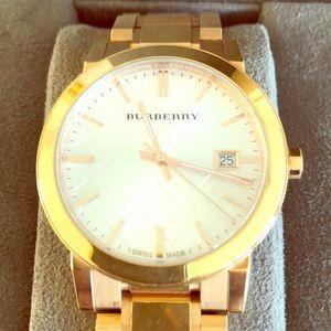 Authentic beautiful unisex Burberry watch